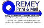 Remey Print & Mail Logo